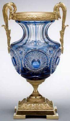 Lenox Colecciones estrella de cristal florero, hecho en la República Checa..