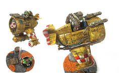 Please take a loook at the picture of our Orc Da Plane painted by Nik Green. This model takes part in our monthly painting competition.