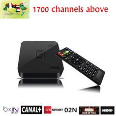 Arabic sweden IPTV Box S905 Arabic IPTV Box Android TV Box with1750+ Europe IPTV Polish Russian Turkey Persian PayTV&VOD