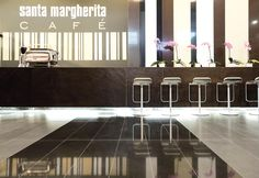 EXHIBIT DESIGN: SM CAFÈ | Client SANTAMARGHERITA | Event MARMOMACC 2008 | Location VERONA