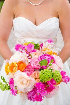 bold + bright bouquet | Dana Cubbage