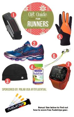 Holiday Gift Guide for Runners via Running Gifts, Running Gear, Running Workouts, Workout Gear, Fun Workouts, Holiday Gift Guide, Holiday List, Gifts For Runners, Mens Fitness