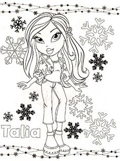 Billedresultat for bratz coloring pages Bratz Part 2 Pinterest