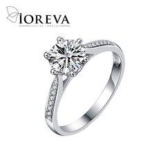 Anel anillo de compromiso anillos de boda para las mujeres wedding band cz joyas de diamantes zirconia joyería al por mayor feminino anéis