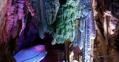 Discover Höllgrotten Caves in Neuheim, Switzerland: These spooky and unusual stone formations create an underworldly landscape. Limestone Caves, Lake Zurich, Underground World, Adventure Tours, Time Travel, Travel Plan, Trip Planning, Switzerland, Paths