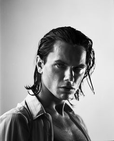 River Phoenix (1970-1993) - American actor, musician and activist. Photo © Michael Tighe, june 1993
