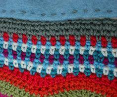 Tweed stitch - my favourite border - http://adaliza.com/2012/06/01/fat-bottomed-girls/