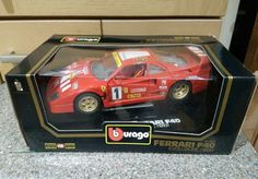 Burago #ferrari f40 evoluzione 1 18 #scale die cast #model boxed red 1992,  View more on the LINK: 	http://www.zeppy.io/product/gb/2/252622365139/