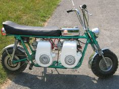 Twin engine Rupp minibike