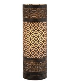 Look what I found on #zulily! Cylinder Table Lamp #zulilyfinds