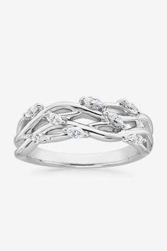 Blooming Willow Diamond Ring