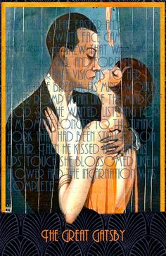 Art Deco Great Gatsby Jazz Age Printable Poster