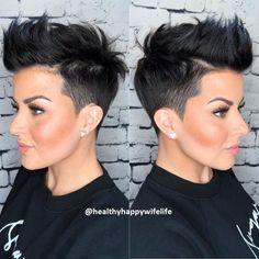 Pixie Hairstyles, Pixie Haircut, Wedding Hairstyles, Cool Hairstyles, Wedge Hairstyles, Hairstyles Videos, Men's Hairstyle, New Hair, Your Hair