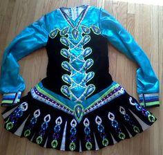 Irish dance dress by Gavin Doherty
