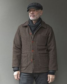 • They're back. Traditional French-made workwear, simple modern style.