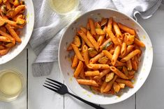 Spicy Penne Pasta with Zucchini & Capers - Blue Apron