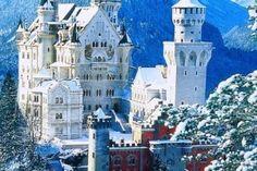 Neuschwansten castle, Schwangau, Bavaria, Germany