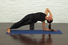 This 13-minute yoga sequence will get your core in the right shape to drop those times.