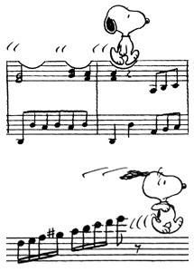 snoopy notes