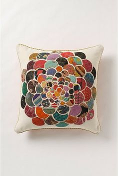 DIY Anthro Orimono Pillow! Scrap-buster tutorial =)