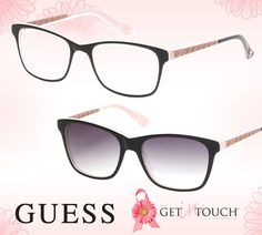GUESS Gets in Touch with Special Edition Frames