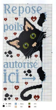 Cross-stitch Peek-a-Boo Kitty...    Gallery.ru / Photos # 2 - 26 - Elgy