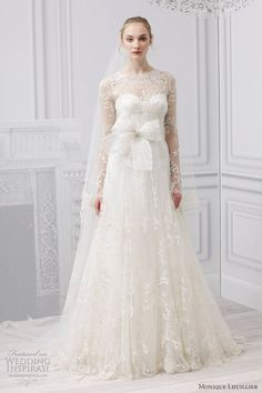 Monique Lhuillier Bridal Spring 2013 Wedding Dresses | Wedding Inspirasi