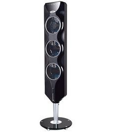 The Ozeri Tower Fan With Passive Noise Reduction Feature FanNoise ReductionLiving Room