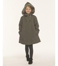 Manteau enfant à capuche Little Fashion, Girl Fashion, Dope Clothes, Acceptance, Raincoat, Lily, Children, Room, Jackets