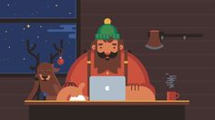 A super fun video we created for the folks at MacPaw Inc. for the holiday season. It was a bit of a new horizon for us, creating a solely character-based video. We hope you enjoy it!  Studio: Motion Authors (www.motionauthors.com) Concept and Direction: Ray East Animator: Valentin Kirilov Illustrator: Alex Kuvaldin Sound Designer: Humberto Corte