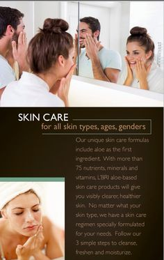 Products made for EVERY skin type! L'Bri Pure n' Natural Www.SusanHazen.lbri.com