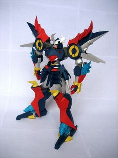 Gundam Papercraft, Fighter Jets, Paper Crafts, Outdoor Decor, Anime, Home Decor, Decoration Home, Tissue Paper Crafts, Room Decor