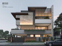 Front Elevation, Udaipur, Concept Architecture, Modern House Plans, Bungalow, Villa, House Design, Patio, Mansions