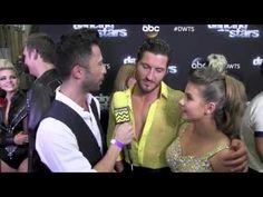 Bindi Irwin & Val Chmerkovskiy @ Dancing With The Stars Season 21 Week 5 I AfterBuzz TV Interview - YouTube