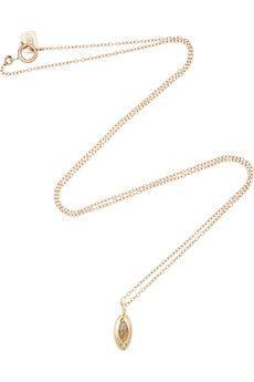 SCOSHA 10-karat gold, opal and diamond necklace | NET-A-PORTER