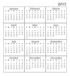 2015 year calendar - Google Search