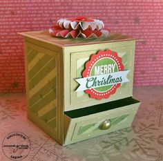 tutorial candy dispenser box ♥