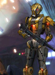 Star wars old Republik droid