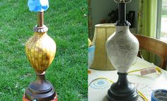 See Cassie Make: Lamp Upcycle
