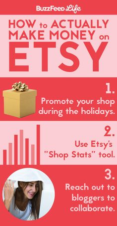 Secrets to actually making money on Etsy.