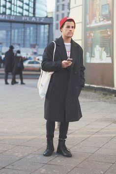 Kevin E. - I wear coat // Berlin #1