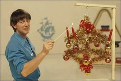 Blue Peter advent crown - yes I made one and we used it for years