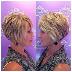 Short haircuts for women over 50 - hair cuts - # for . - Haar ideen - Short haircuts for women over 50 - hair cuts - # for . Layered Haircuts For Women, Layered Bob Hairstyles, Short Hairstyles For Women, Hairstyles Haircuts, Short Haircuts, Thick Hairstyles, Short Layered Bob Haircuts, Sassy Haircuts, Haircut Short