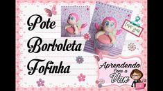 (DIY) Pote Borboleta Fofinha (Maratona de Potes #26)