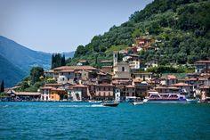 Lago di Iseo is near Bergamo