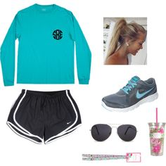 """Running Outfit"" by sarahobrien24 on Polyvore"