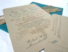 Romantic Tree  Rustic Wedding Invitation by ThePaperSentiment, $6.00