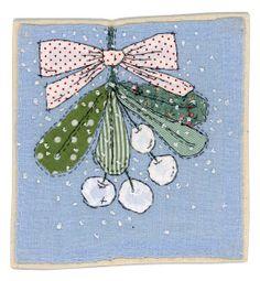 Sharon Blackman: Feeling a bit Christmassy? Christmas Applique, Christmas Sewing, Christmas Fabric, Christmas Embroidery, Christmas Art, Handmade Christmas, Xmas, Christmas Decorations, Freehand Machine Embroidery