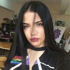 hair, beauty, and girl image Emo Girls, Cute Girls, Madison Beer Outfits, Aesthetic People, Photos Tumblr, Grunge Girl, Sexy Teens, Indian Beauty Saree, Tumblr Girls