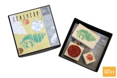 Rubber Stamp. 3 pz Seashell $230.00